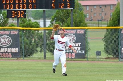 Senior outfielder Griff Gordon