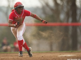Junior outfielder Melanie Steer