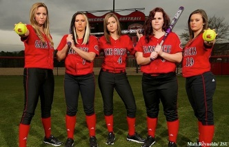 (Left to right)  Tiffany Harbin, Hayden Crawford, Amanda Maldonado, Kalee Tabor, Savanna Hennings