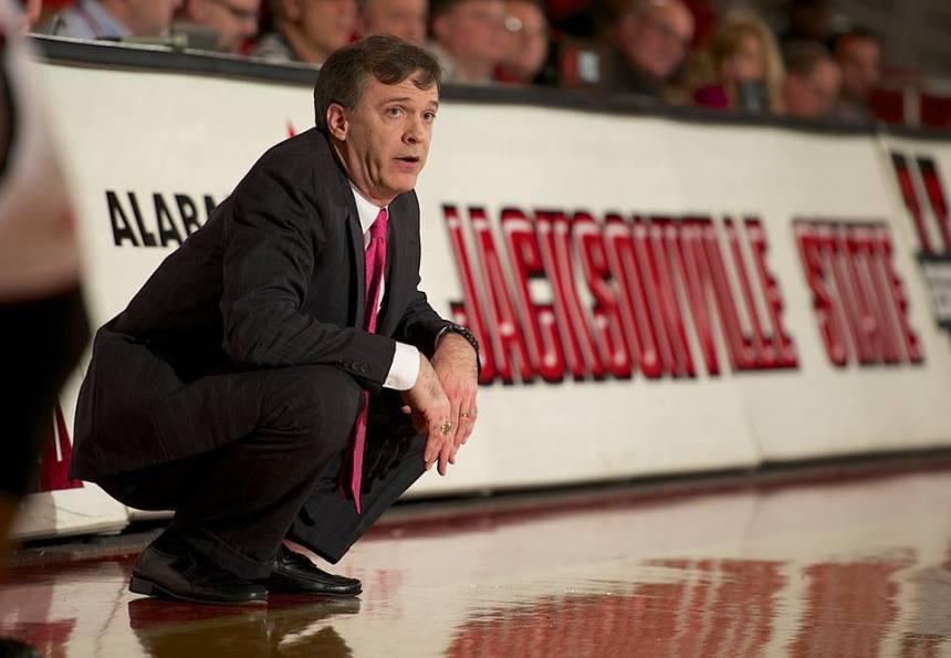 Wemen's Basketball head coach Rick Pietri